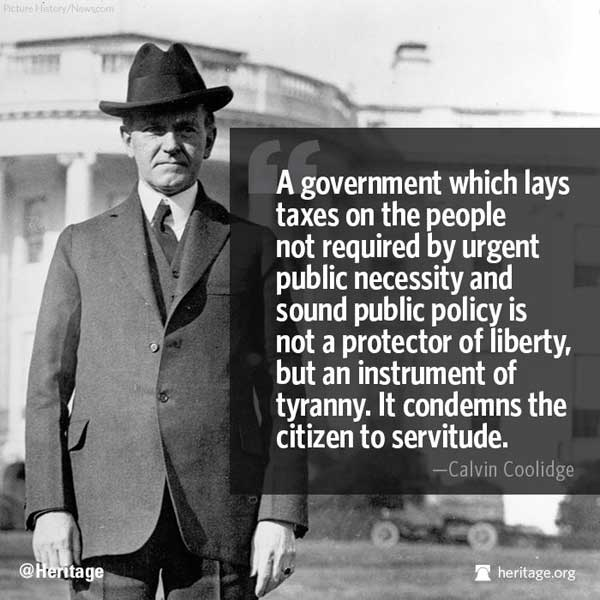 Calvin Coolidge quote