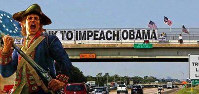 Impeach Obama Overpass