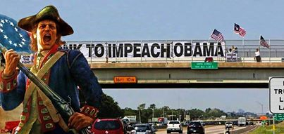 Impeach Obama Overpass
