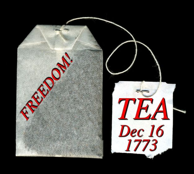 Tea Bag Dec 16 1773.
