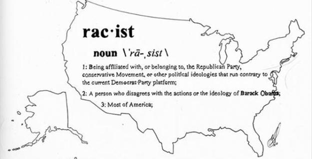 Racist Map