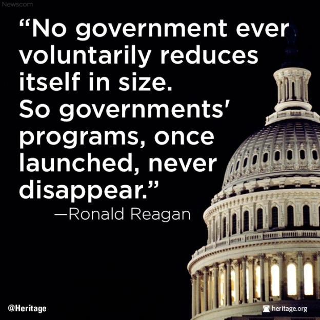 Reducing Govt