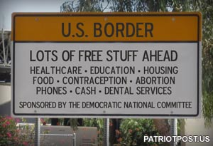 US Border - Free Stuff