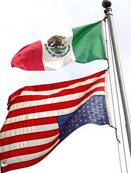 US-MEX flags 1