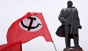 Bolshivist Flag Stalin