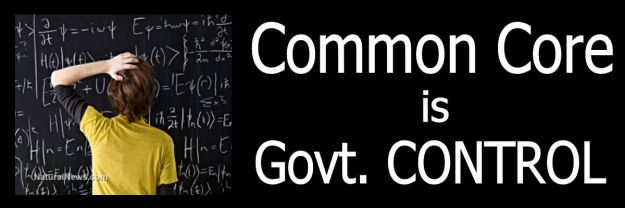 Common Core Govt Control