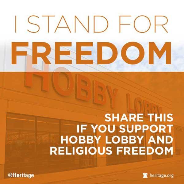 Hobby Lobby Freedom