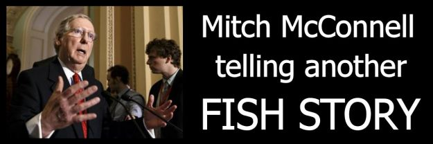 Mitch McConnel telling fish story 2