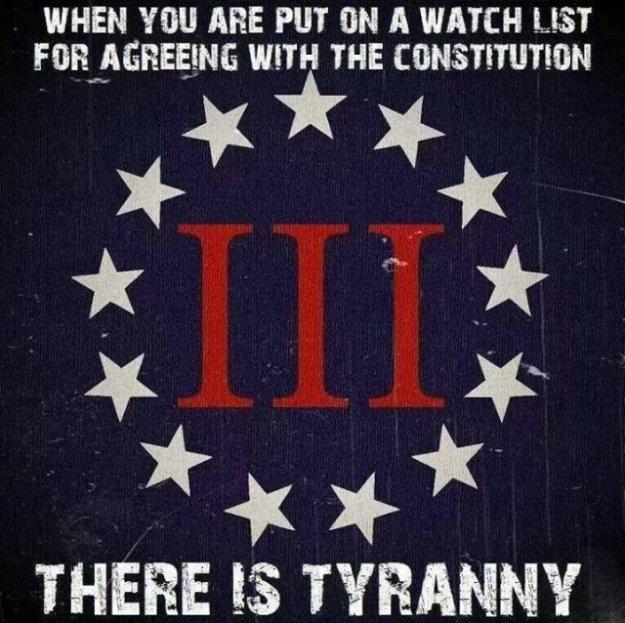 watch list tyranny