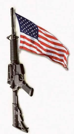 Flag M-16