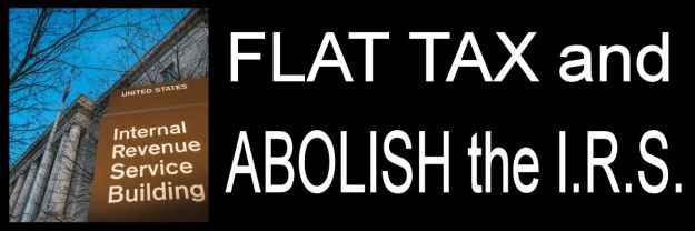 Flat Tax abolish irs
