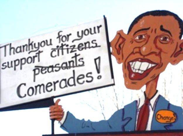 Obama Sign 4
