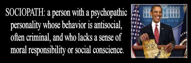 obama sociopath