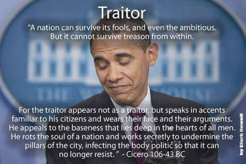 Obama - traitor