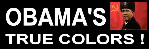 Obamas true colors