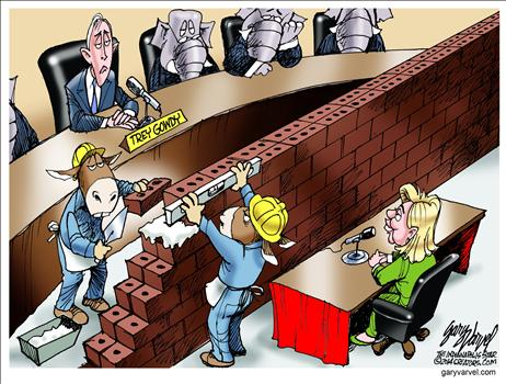 Benghazi hearings wall