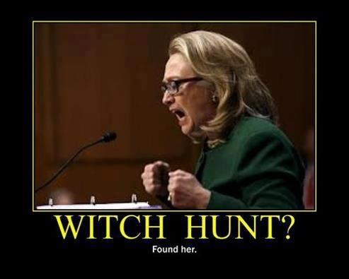Hillary witch hunt