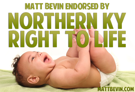 Matt Bevin right to life