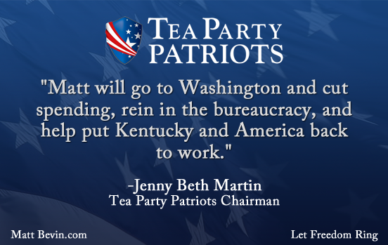 Matt Bevin Tea Party Patriots