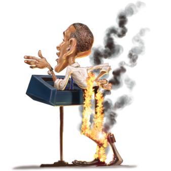 Obama pants on fire