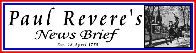 Paul Reveres News Brief Banner