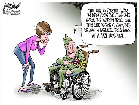 VA hospital survivor